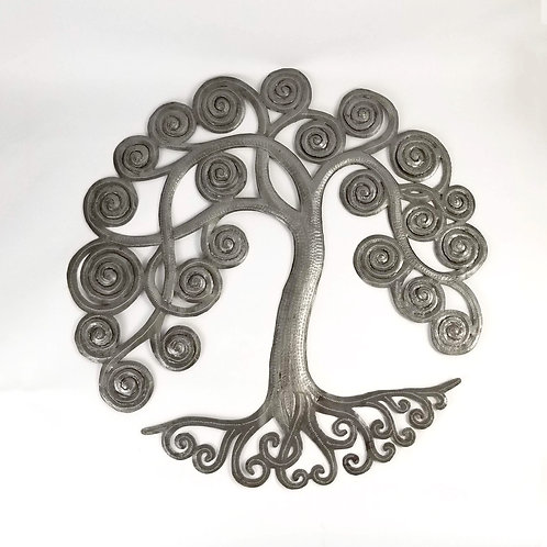 Upcycled Curly Tree of Life