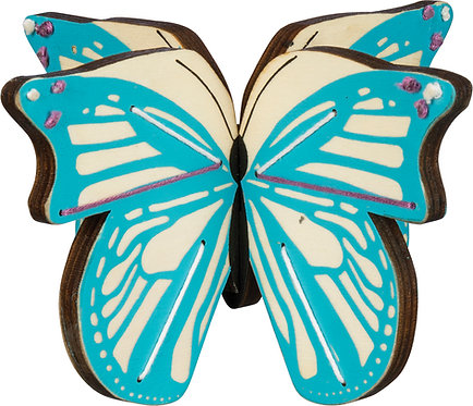 3D Wooden Butterfly Stand-Up