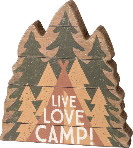 Live, Love, Camp! Chunky Sitter