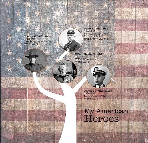 American Heroes Canvas