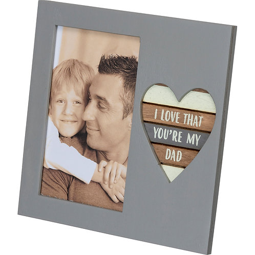 My Dad Plaque Frame