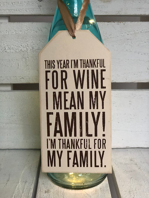 Thankful Bottle Tag