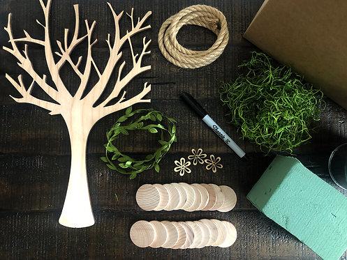 DIY Rustic Family Tree Kit