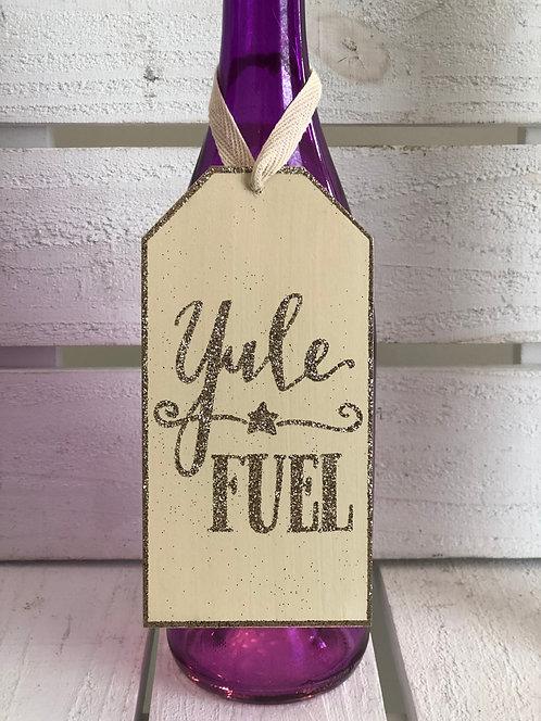 Yule Fuel Bottle Tag