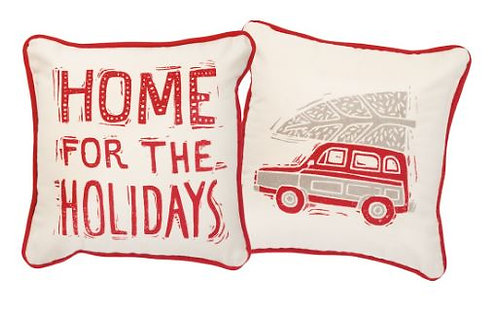 Home for the Holidays Accent Pillow