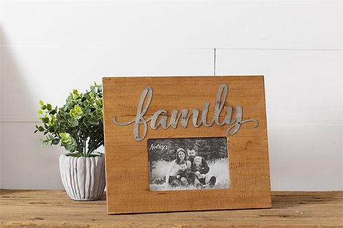 Family Metal Accent Frame