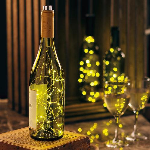 White LED Wine Bottle Lights
