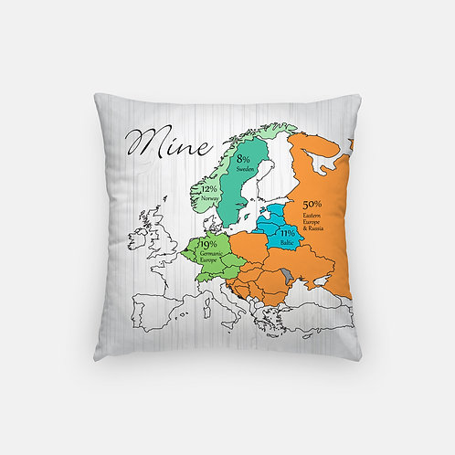 Yours & Mine DNA Artisan Pillow