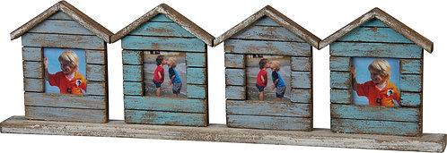 Four Houses Photo Frame