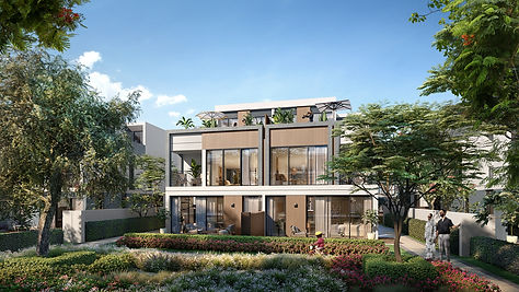 Aura Gardens_Twin Villas_Back view_Type_A.jpg