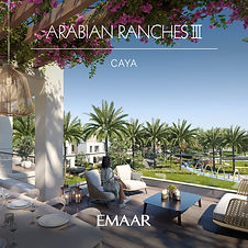 Independent Villas by Emaar Located at Arabian Ranches III 3, 4 & 5 BR modern and spacious standalone villas