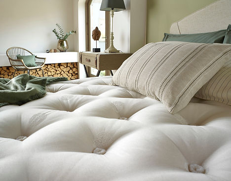 The Wharfedale Mattress close up
