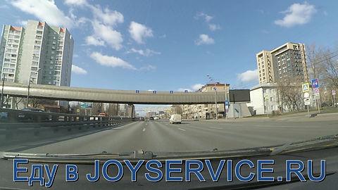 Как доехать до JOYSERVICE.RU на автомобиле