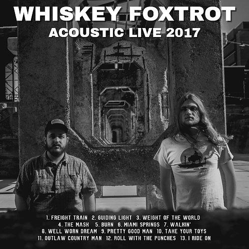 Acoustic Live 2017 CD