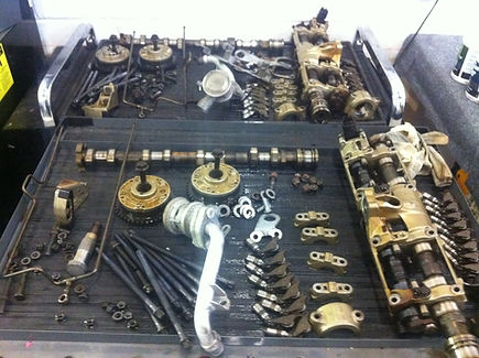 Bmw Engine Repair shop camshaft