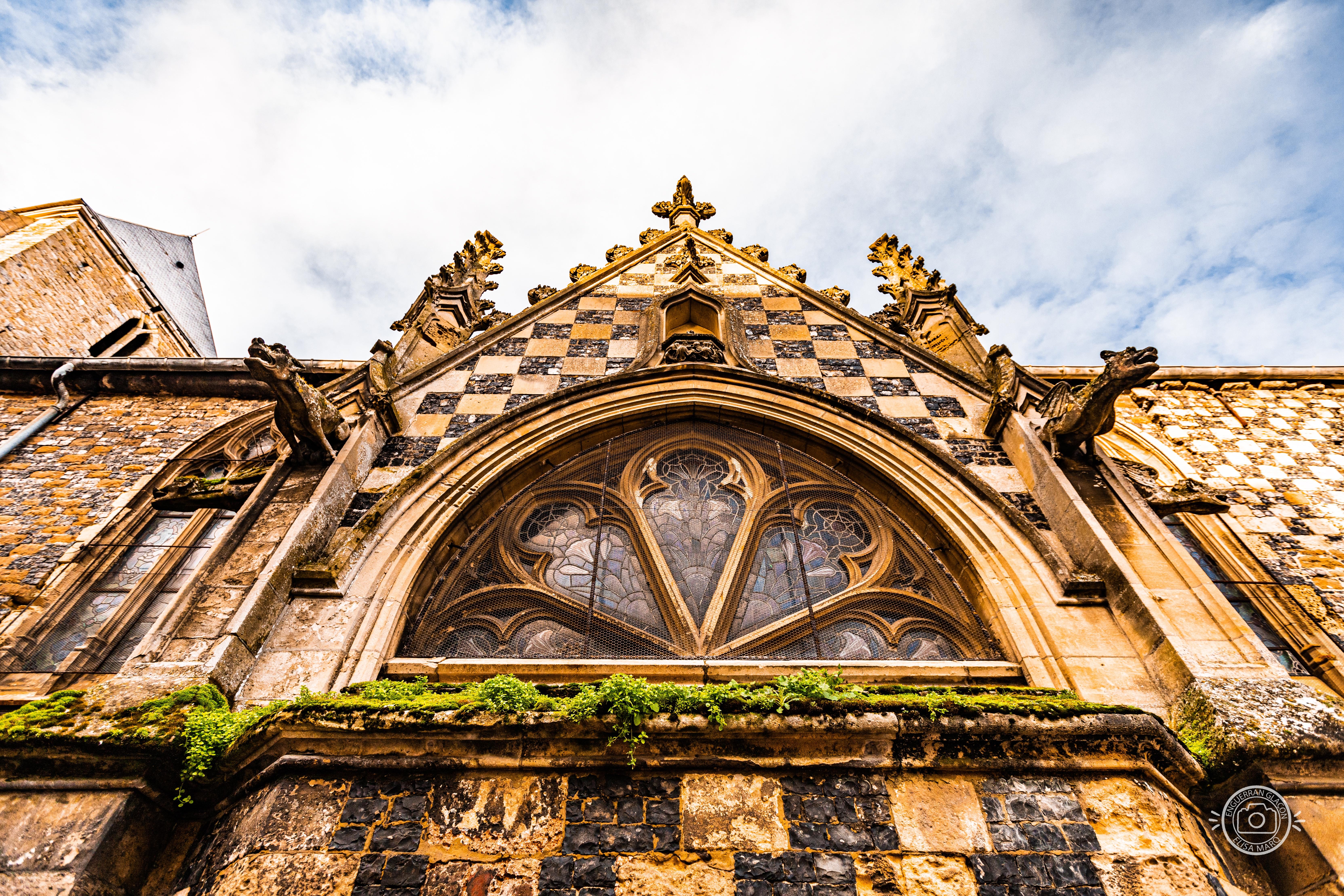 Vitraux de Saint-Martin n°2 - St Valery sur Somme