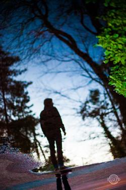 Reflection dans la Forêt du Touquet