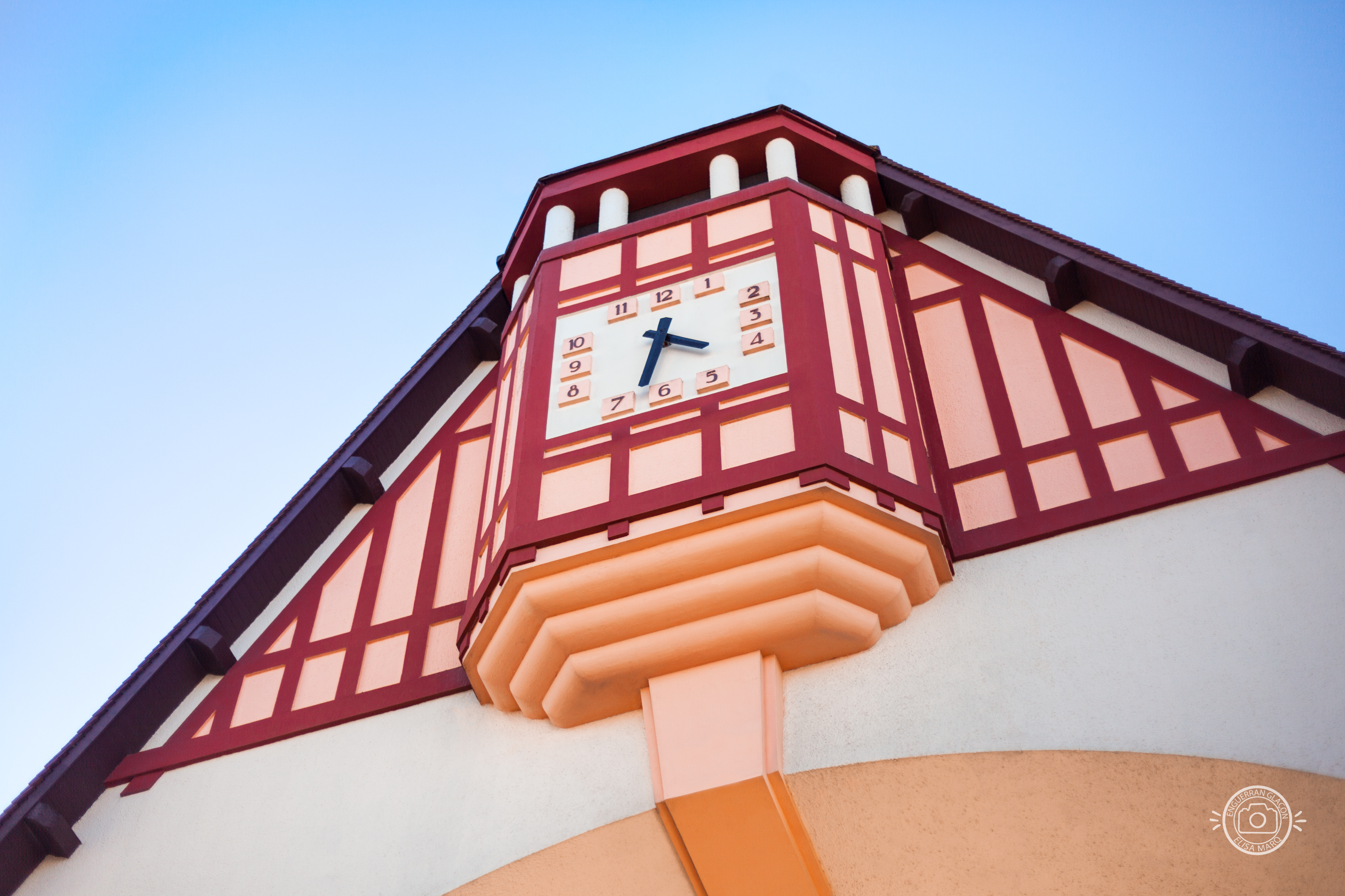 Horloge au Marché du Touquet