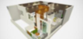 Maquete Eletrônica Interativa desenvolvida pela 8E7 Mídias Interativs para a Construtora Tecnisa