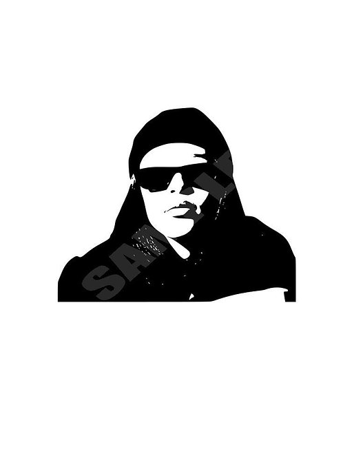 Aaliyah SVG - PNG - EPS