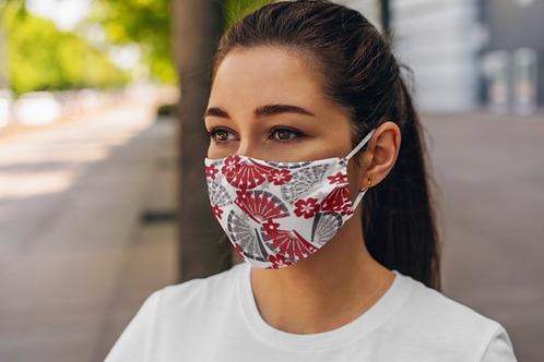 Little Harajuku Asian Fans Face Mask