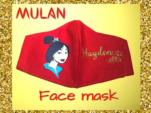 Mulan Face Mask