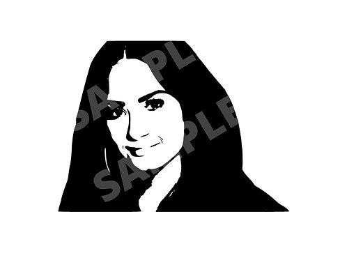 Demi Lovato SVG - PNG - EPS