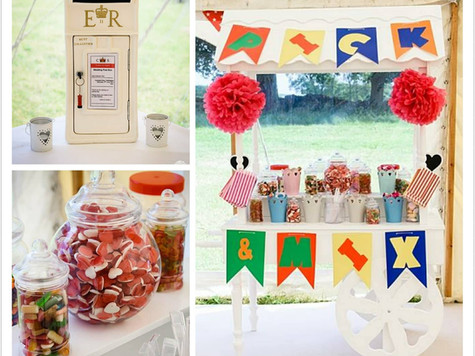 Candy Cart & Postbox