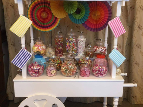 Candy Cart with Sweet Package