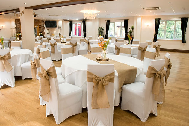 Hadley Wedding-249 hessian sashes at the
