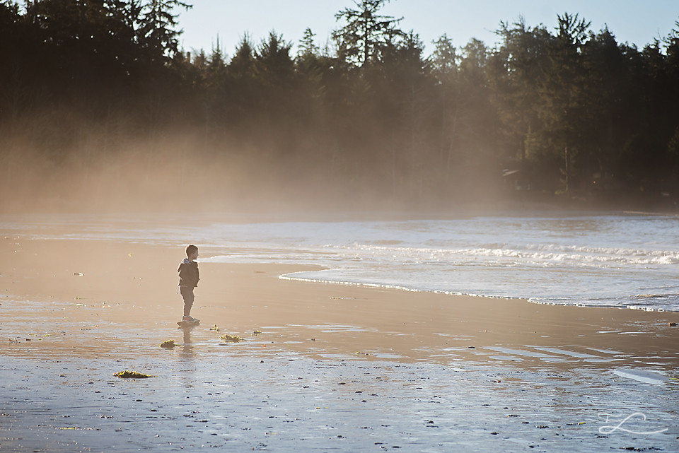 Fawn Lily Photography, Boy at Tofino, Beach, Four Year Old, Victoria BC, Sidney BC, Photographer