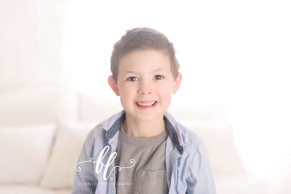 5 year old boy, victoria bc family photographer, how to plan out a gallery wall of photos