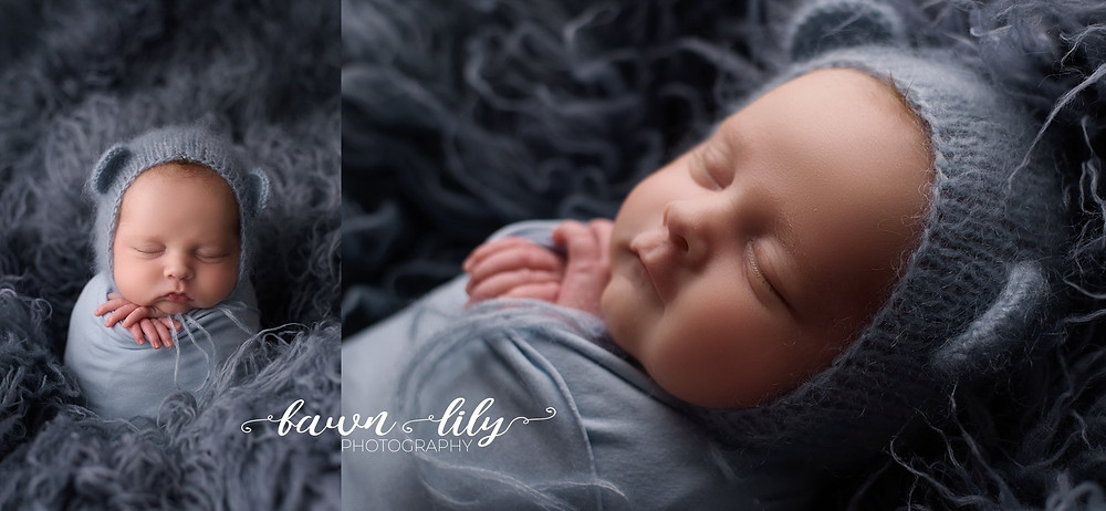 Potato Sack Pose, Newborn Baby Boy, Newborn Photographer, Victoria BC Newborn Photographer