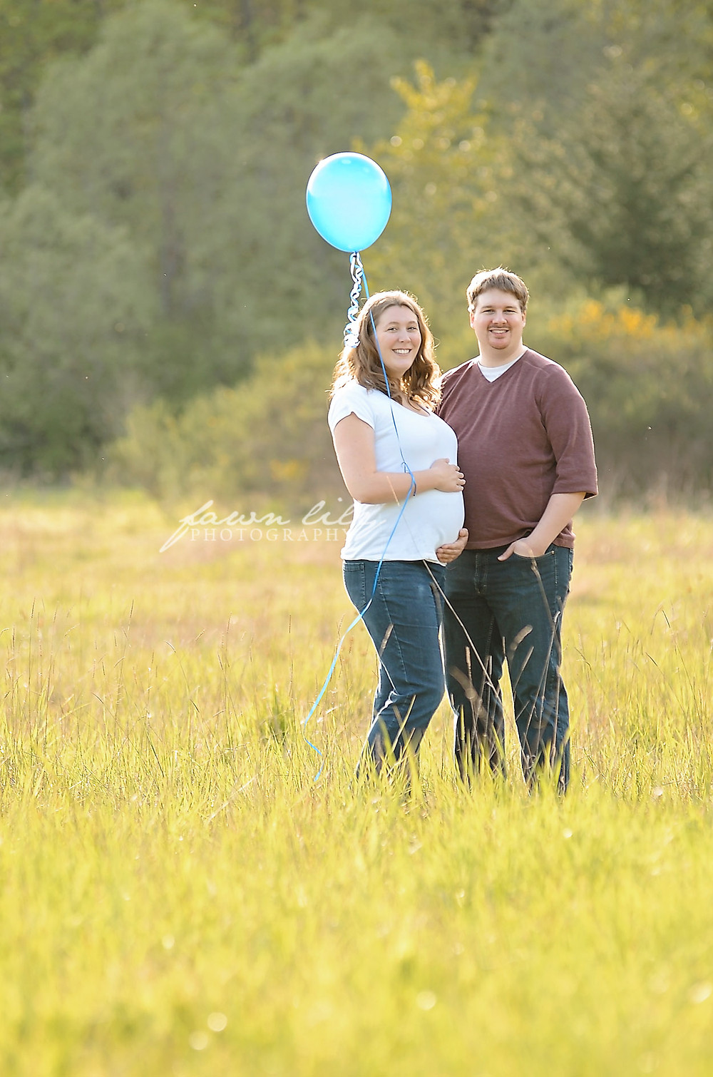 Fawn Lily Photography Sidney BC Maternity Photographer Gender Reveal