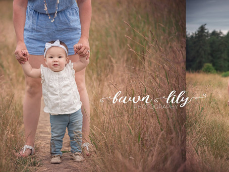 First Birthday Photos with Fawn Lily Photography