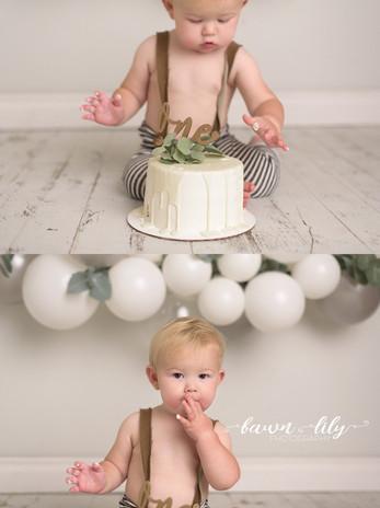 Victoria BC Cake Smash Photographer