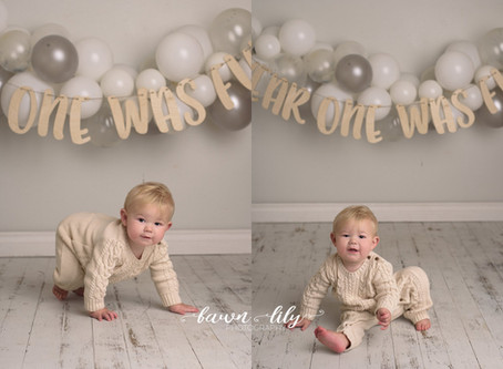 Owen's One! Victoria BC Baby Photographer