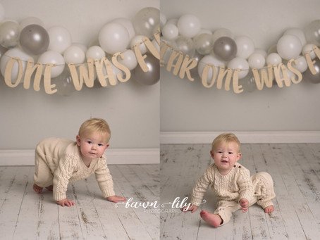 Owen's One! Victoria BC Baby Photographer