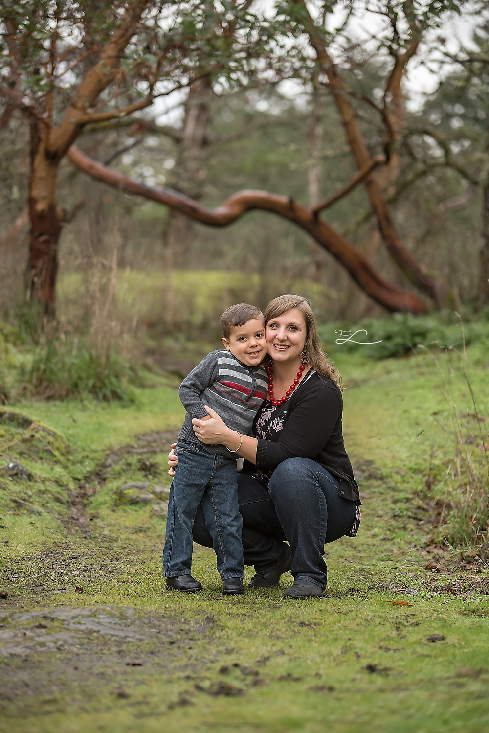 Fawn Lily Photography, Sidney BC Photographer, Mom & son