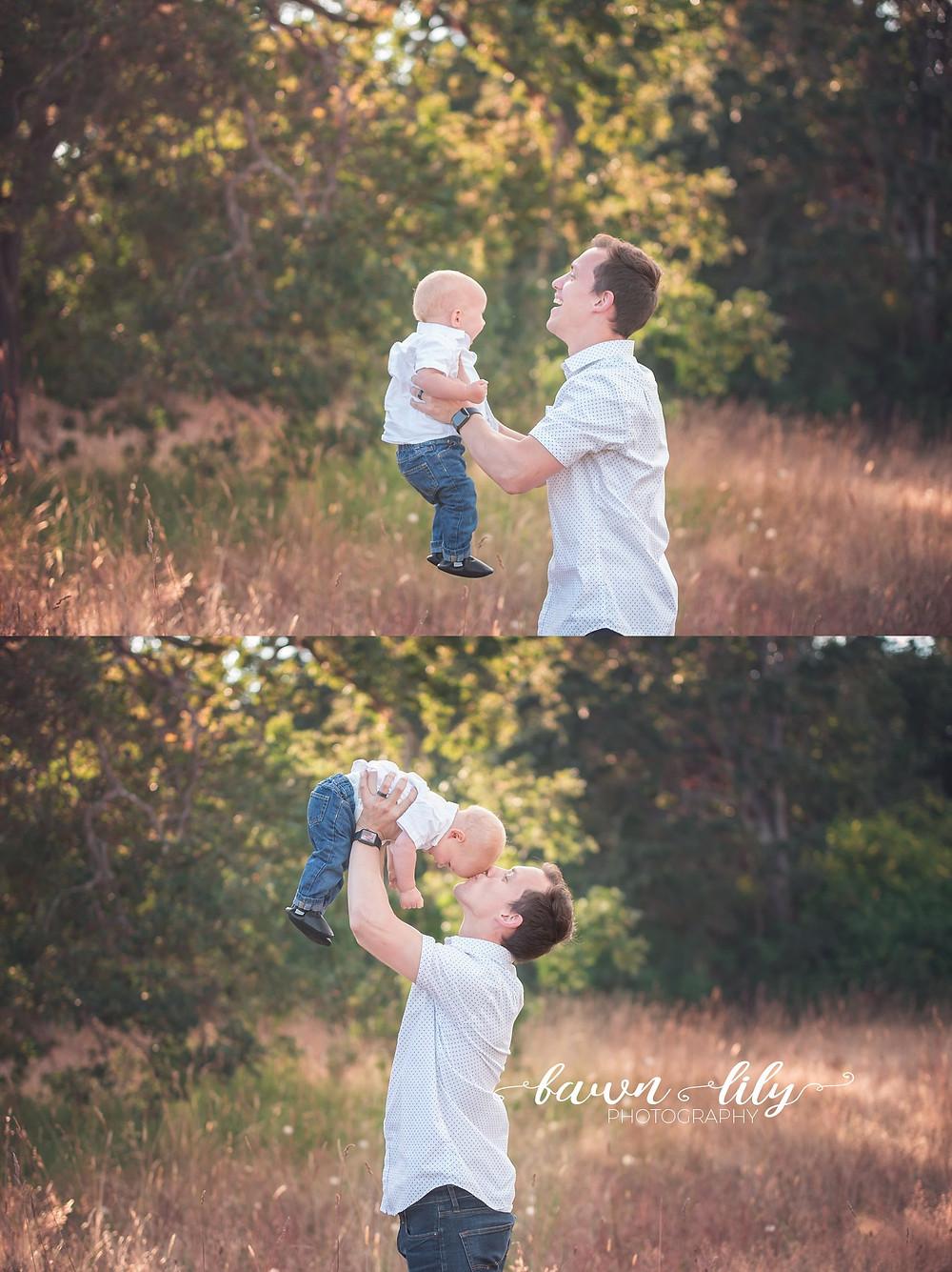 Father/son photos, Victoria BC photography, Beacon Hill Park photos, Family photographer