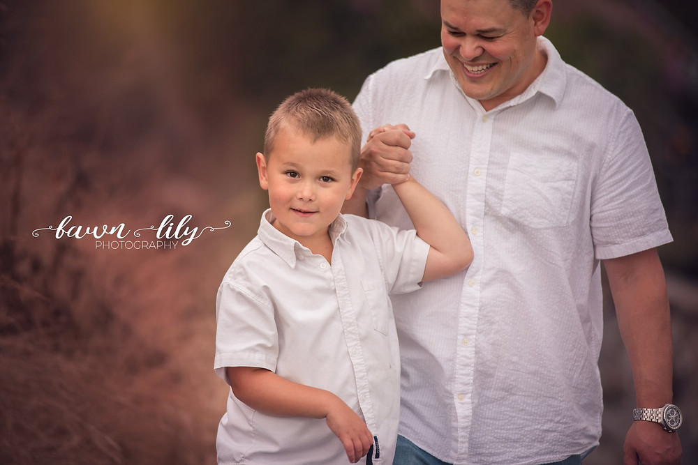 Boy and his dad, Walking on the beach, Fawn Lily Photography, Victoria BC Family Photographer