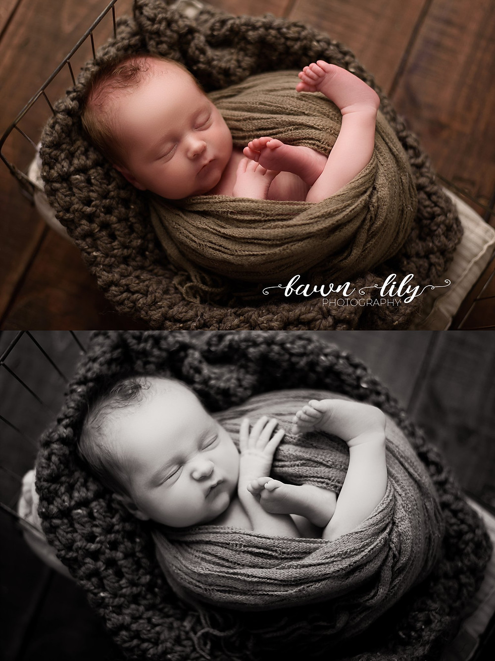 Baby on a tiny bed, Fawn Lily Photography, Sidney BC Newborn Photographer, Victoria BC Newborn Photographer