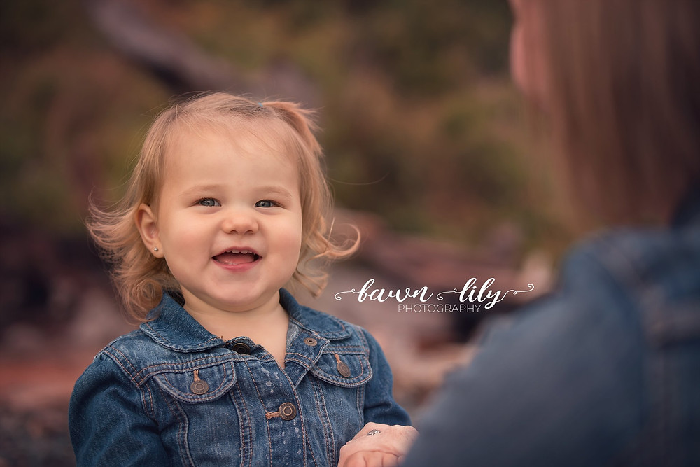 Baby on the beach, baby smiles, Fawn Lily Photography, Victoria BC Photographer