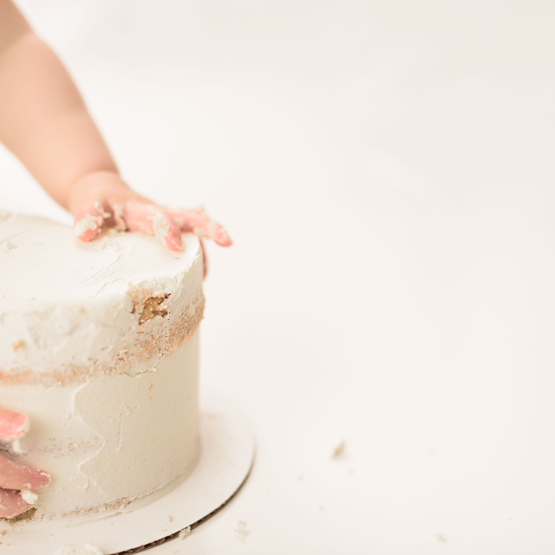 Victoria BC Cake Smash Photos