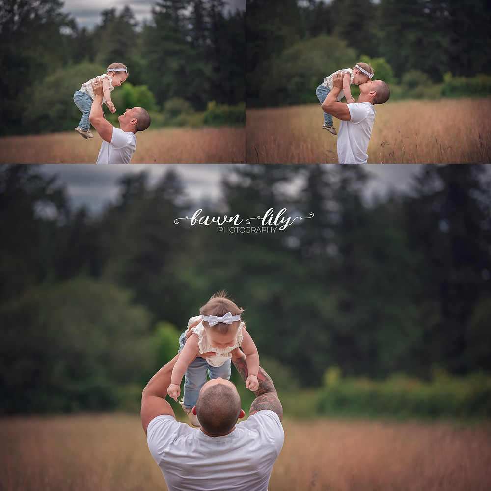 Daddy and me, Pictures with daddy, Sidney BC photographer, Victoria BC photographer, family photographer BC