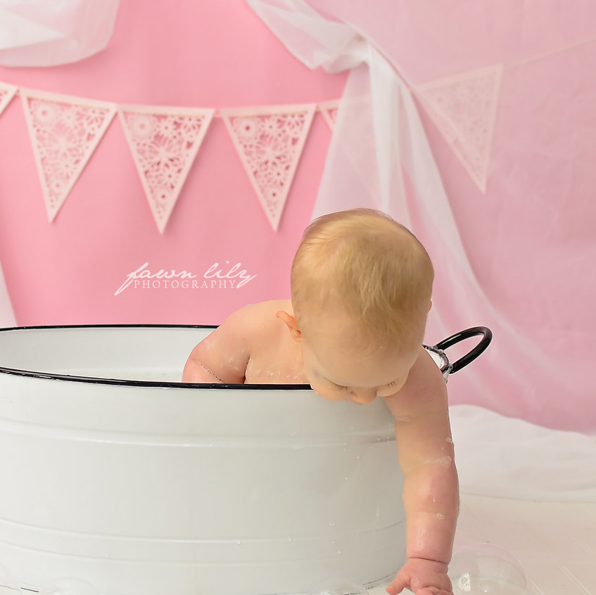Fawn Lily Photography Cake Smash 11