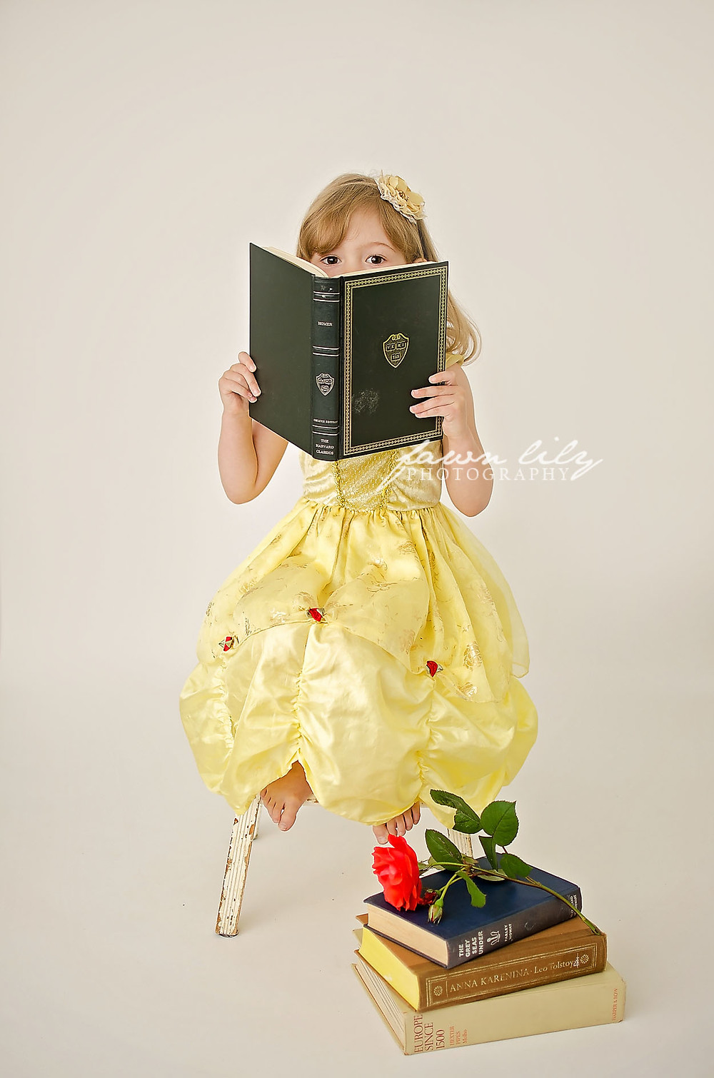 Fawn Lily Photography, Sidney BC Children's Photographer, Stylized Session, Princess Belle