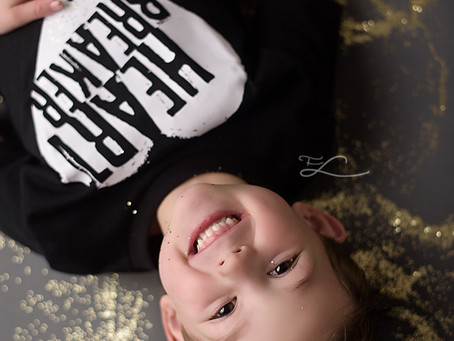 GLITTER for boys with Fawn Lily Photography