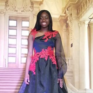 cherith b custom dress