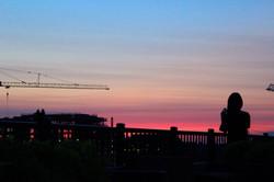 Sunset in Arlington, VA